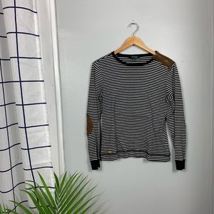 Lauren by Ralph Lauren Striped Long Sleeve